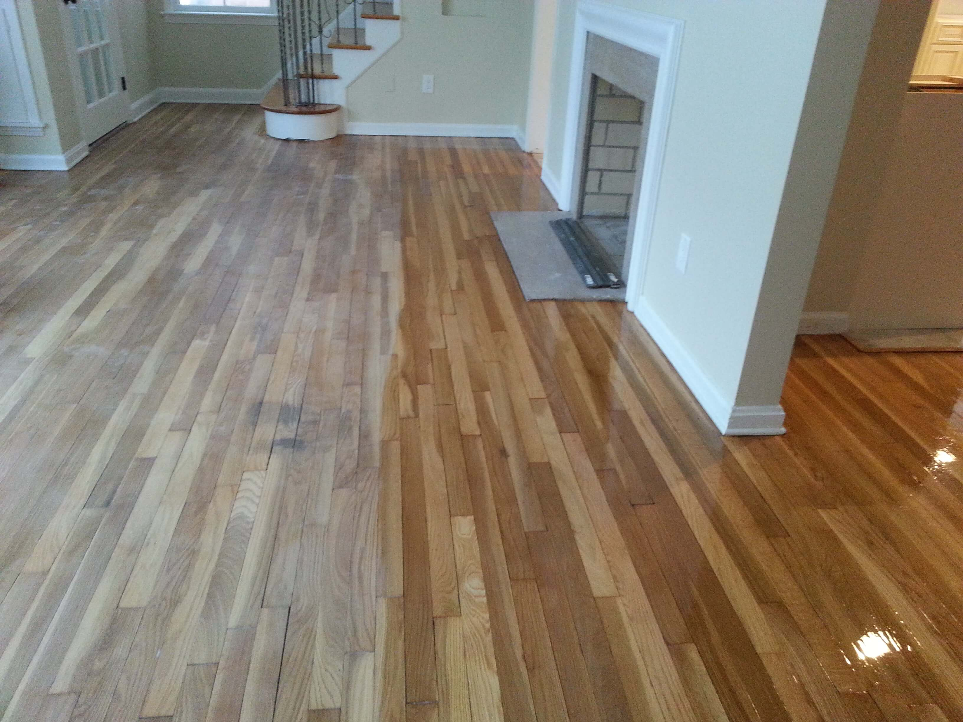 nashville wood floor staining