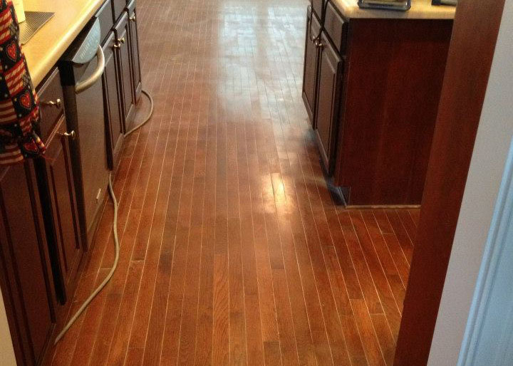 Resurfacing wood floors in Nashville