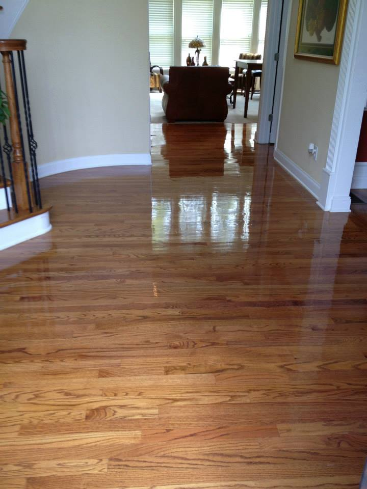after hardwood floor refinishing in Nashville, tn