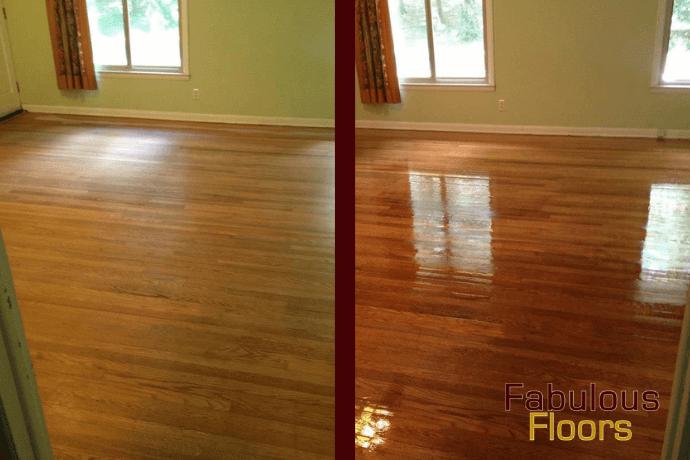 hardwood floor refinishing in Dickson, TN