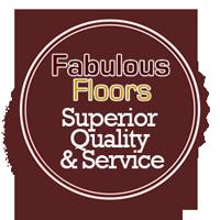 Fabulous Floors quality assurance badge